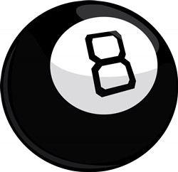 Magic Eight Ball print art