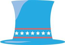 Patriotic Hat print art