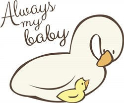 Always My Baby print art