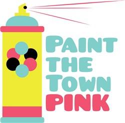 Paint The Town print art
