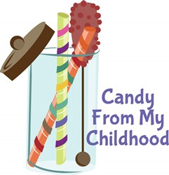 Candy From Childhood print art