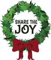Share The Joy print art