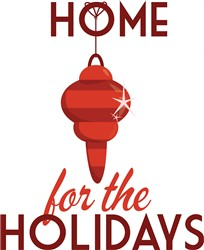 Home For The Holidays print art