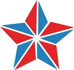 Patriotic Star print art