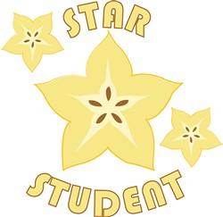 Star Student print art