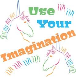 Use Your Imagination print art