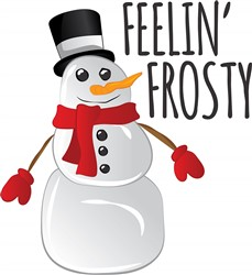 Feelin Frosty print art