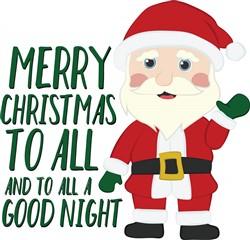 Merry Christmas All print art