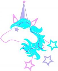 Unicorn3_Layer3 print art