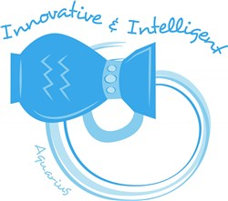 Aquarius: Innovative & Intelligent print art