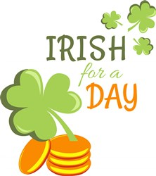 Irish For A Day print art