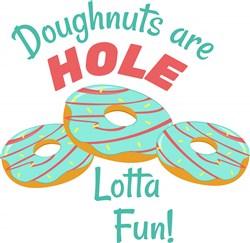 Doughnut Holes print art