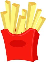 French Fries print art