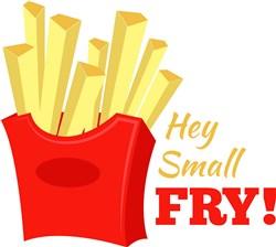 Hey Small Fry! print art