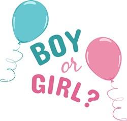 Boy or Girl? print art