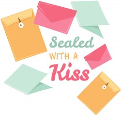 Sealed With A Kiss print art