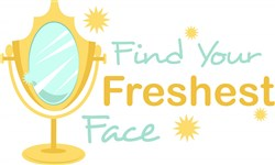 Find Your Freshest Face print art