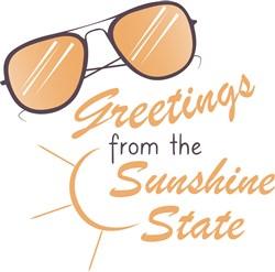 Sunshine State Greetings print art