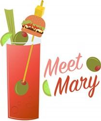 Meet Mary print art