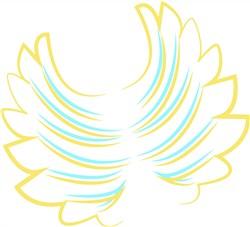 Wings print art