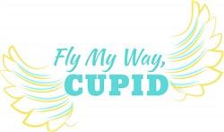 Fly My Way, Cupid print art