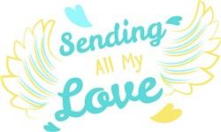 Sending All My Love print art