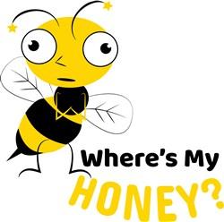 Wheres My Honey print art