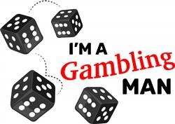 Gambling Man print art