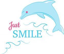Just Smile print art