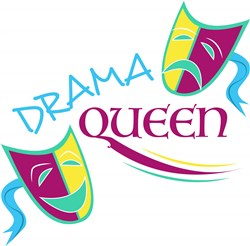 Drama Queen print art