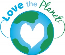 Love The Planet print art
