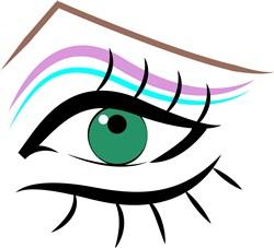Female Eye print art