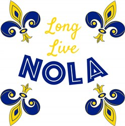 Long Live NOLA print art