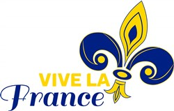 Vive La France print art