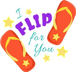 Flip_Flops_I_Flip_For_You print art