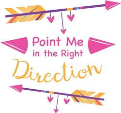 Right Direction print art