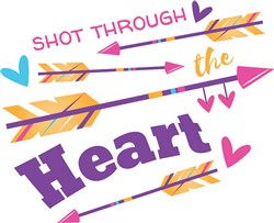 Through The Heart print art