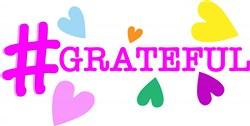 Hashtag Grateful print art