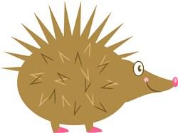 Hedgehog print art