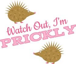 Im Prickly print art