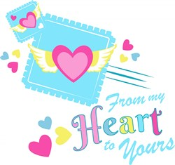 From My Heart print art