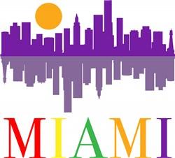 Miami print art