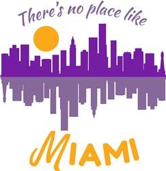 No Place Like Miami print art