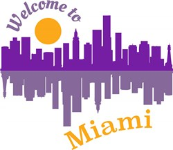 Welcome To Miami print art