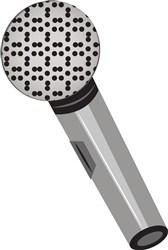 Microphone print art