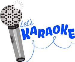 Lets Karaoke print art