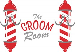 Groom Room print art