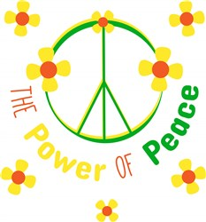 Power Of Peace print art