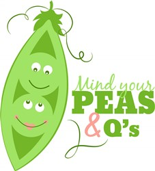 Peapod_Mind_Your_Peas_And_Q s print art