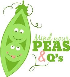 Peas & Q s print art